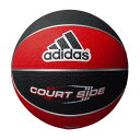 adidas(アディダス)バスケットボールゴムバスケットボール コートサイド 6号球AB6122RBK