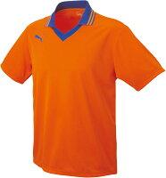 PUMA(プーマ)サッカーゲームシャツ・パンツエリツキ ハンソデ ゲームシャツ90329906ORANGE-BLUの画像