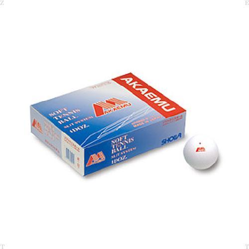 LUCENT(ルーセント)テニスボールソフトテニスボールアカエムS試合球ホワイト1ダースM30000