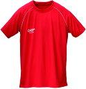 セプターラグビーアメゲームシャツ・パンツラグビー 練習用 プラクティスシャツCTT009RED