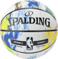 SPALDING(スポルディング)バスケットマーブルコレクション マルチ 5号球83715Zの画像