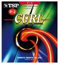 TSP卓球ガット・ラバーカール P‐2 ソフト020125レッド