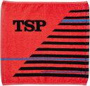TSP卓球タオルシャギーPTハンドタオル044409レッド