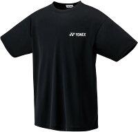 Yonex(ヨネックス)テニスTシャツジュニア テニスウェア ドライTシャツ16400Jブラックの画像