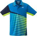 Yonex(ヨネックス)テニスゲームシャツ・パンツ男女兼用 テニスウェア ユニポロシャツ10253インフィニットブルー