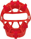ZETT(ゼット)野球&ソフトマスク・プロテクター少年軟式野球用キャッチャーマスク(SG基準対応)BLM7200Aレッド
