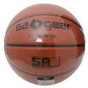 s.a.gear (エスエーギア) バスケットボール 6号ボール ゴム製バスケットボール6号 レディース ブラウン SA-Y15-103-033