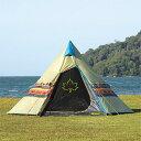 【送料無料】 LOGOS (ロゴス) キャンプ用品 ソロ その他テント ナバホ Tepee 300 71806501