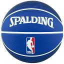 SPALDING (スポルディング) バスケットボール 7号ボール NBA LOGOMAN BLU 7 7 ブルー 73-359Z
