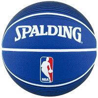 SPALDING (スポルディング) バスケットボール 7号ボール NBA LOGOMAN BLU 7 7 ブルー 73-359Zの画像