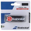 Babolat (バボラ) テニス バドミントン グリップテープ シンテックプロ BK ブラツク BA670051