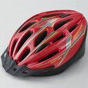 BRIDGESTONE (ブリヂストン) バイク 自転車 ジュニアヘルメット AIRIO CHA5660 RE ジュニア L レッド 4977716067855