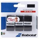 Babolat (バボラ) テニス バドミントン グリップテープ VSグリップ×3 BK ブラツク BA653040