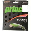PRINCE (プリンス) テニス ストリングス 7J39814 ライトニングXX 16 ピンク 7J39814 PIK