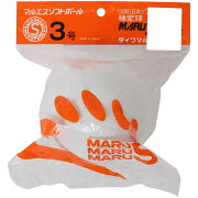 MARU S (マルエス) 野球 ソフトボール球 MARUESU SOFT3CORK 1P WHT S3CHP
