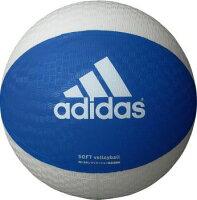 adidas (アディダス) その他競技 体育器具 ソフトバレーボール ソフトバレーボール 青色×白色 ブルー×ホワイト AVSBWの画像