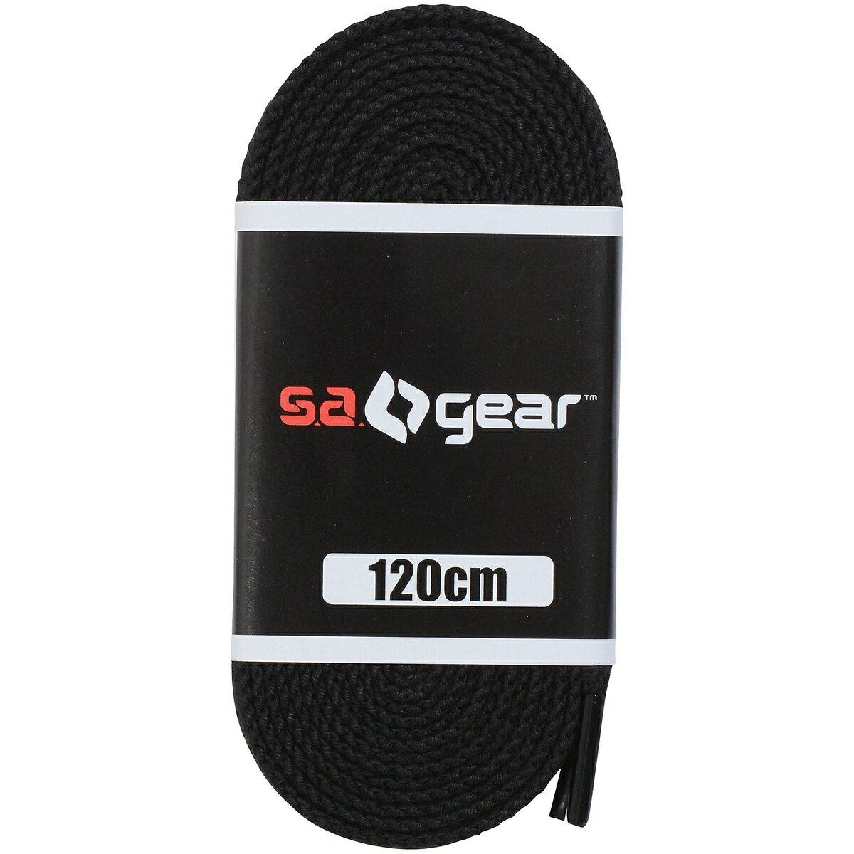 sagear(エスエーギア)野球スパイクアクセサリーシューレース120CMブラックSA-Y18-00