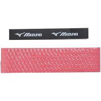 MIZUNO (ミズノ) ラケットスポーツ グリップテープ グリップテープ(ダイヤ型押しタイプ)1本入り ワインレッド 63JYA80266の画像