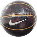 ● NIKE (ナイキ) バスケットボール 7号ボール ナイキ レブロン プレイグラウンド 4P 7 チームレッド/カレッジネイビー BS3006-6127