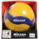 MIKASA (ミカサ) バレー4号 練習球 黄/青 バレーボール 4号ボール 4 V430W