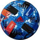 ● 【送料無料】 adidas (アディダス) サッカー ボール ツバサ グライダー JFA4号球 ジュニア 4号球 ホワイト AF416JP