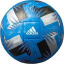 ● adidas (アディダス) サッカー ボール ツバサ クラブエントリー4号球 青色 ジュニア 4号球 ブルー AF4877B