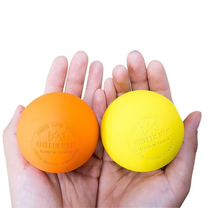 ラクロスボール 1個売り【NOCSAE公認:刻印入り】