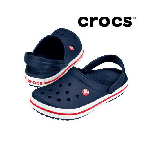 crocs(クロックス) ユニセックスサンダル クロックスバンド 11016 ネイビー