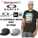 OAKLEY(オークリー)! キャップ 『OAKLEY O-JUSTABLE METAL CAP New Era 9Fifty』  【キャップ】【アクセサリー】【帽子】