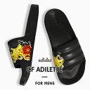 ショッピングシャワーサンダル アディダス adidas メンズ サンダル シャワーサンダル Cloudfoam CF ADILETTE アディレッタ EH3440 黒