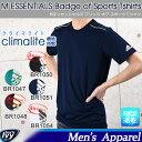 楽天SPORTS アイビー最大1,000円OFFクーポンメール便 アディダス ADIDAS M ESSENTIALS Badge of Sports Tシャツ BR1047/BR1048/BR1050/BR1051/BR1054