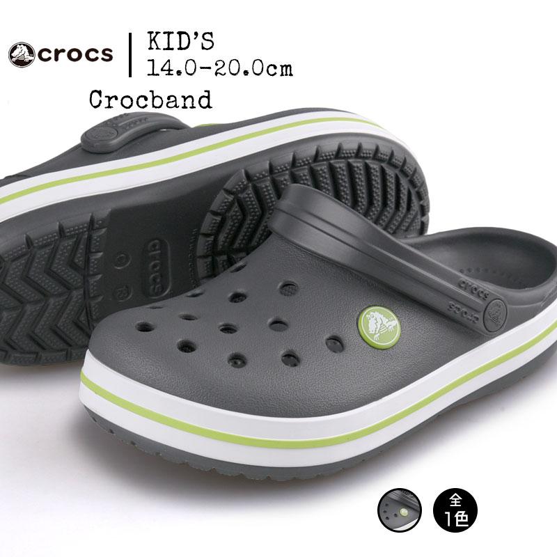 送料無料 crocs クロックス Crocband kids クロックバンド キッズ 204537-0A1
