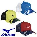 【MIZUNO-ミズノ】 キャップ/帽子 【テニスキャップ/バイザー/テニス・ソフトテニス