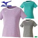 MIZUNO ミズノ レディース 半袖 ゲームシャツ ユニホーム テニス ソフトテニス バドミントン ウェア