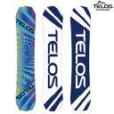TELOS テロス スノーボード CHILLUM TWIN FREESTYLE チラムツイン フリースタイル BLUE 18/19 板
