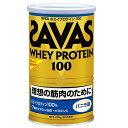 【理想とする筋肉のために!】 ザバス ホエイプロテイン100 バニラ味 1缶(378g)  【SAVAS-ザバス】 サプリメント/プロテイン