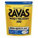 【理想とする筋肉のために!】 ザバス ホエイプロテイン100 バニラ味 1袋(1050g)  【SAVAS-ザバス】 サプリメント/プロテイン