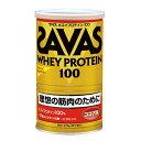 【理想とする筋肉のために!】 ザバス ホエイプロテイン100 ココア味 1缶(378g)  【SAVAS-ザバス】 サプリメント/プロテイン