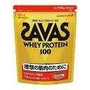 【理想とする筋肉のために!】 ザバス ホエイプロテイン100 ココア味 1袋(1050g)  【SAVAS-ザバス】 サプリメント/プロテイン