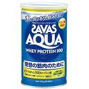 【理想の筋肉のために!】 ザバス アクア ホエイプロテイン 100 グレープフルーツ風味 1缶(378g)  【SAVAS-ザバス】 サプリメント/プロテイン