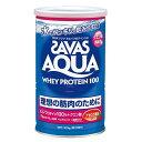 【理想の筋肉のために!】 ザバス アクア ホエイプロテイン 100 アセロラ風味 1缶(378g)  【SAVAS-ザバス】 サプリメント/プロテイン