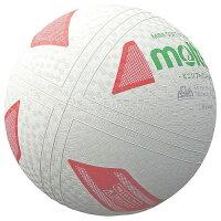 【molten-モルテン】 ミニソフトバレーボール ホワイト 小学校高学年用 【バレーボール用品/練習球】の画像