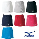 【MIZUNO-ミズノ】 レディース/ウイメンズ スコート/スカート インナー・ポケット付き 【バドミントンウェア/テニス・ソフトテニスウェア】