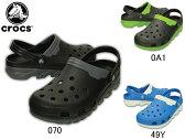 クロックス:【メンズ】デュエット マックス クロッグ【crocs DUET MAX CLOG サンダル スニーカー】