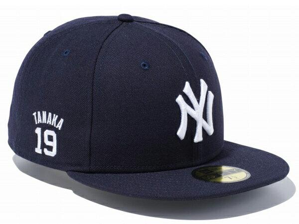 ニューエラ:59FIFTYニューヨーク・ヤンキース田中将大ユニフォームナンバーNEWERA野球キャッ