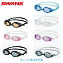 スワンズ フィットネス用 クッション付 ゴーグル 左右非対称のクッション 大き目レンズモデル SW32N