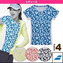 【テニス・バドミントン ウェア(レディース) バボラ】ゲームシャツ/レディース(BAB-1644W)