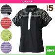 [プリンス テニス・バドミントンウェア(レディース)]FUN/ゲームシャツ/レディース(WL6140)
