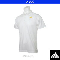 【野球 ウェア(メンズ/ユニ) アディダス】Professional ボタンダウンポロシャツ(BIN03)の画像