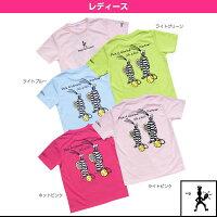 【テニス・バドミントン ウェア(レディース) バルデマッチ】 Tシャツ(Pick)/レディース(BM-JW1623)の画像